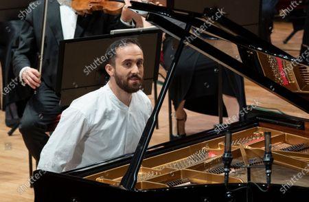 Editorial photo of Nobel Prize Concert 2020, Stockholm Concert Hall, Stockholm, Sweden - 08 Dec 2020