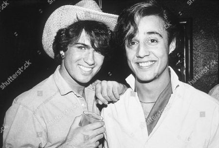 GEORGE MICHAEL AND ANDREW RIDGLEY OF WHAM