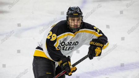 Editorial picture of Colorado College Western Michigan Hockey, Omaha, United States - 08 Dec 2020