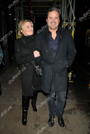 Tina Hobley and Oli Wheeler