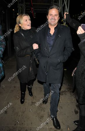 Stock Picture of Tina Hobley and Oli Wheeler