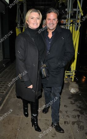 Stock Image of Tina Hobley and Oli Wheeler
