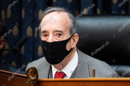 Stock Photo of U.S. Representative Eliot Engel (D-NY) speaks at a hearing of the House Foreign Affairs Committee.