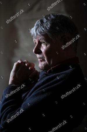 Editorial image of Chris Woodhead at home near Porthmadog, Wales, Britain - 25 Feb 2010