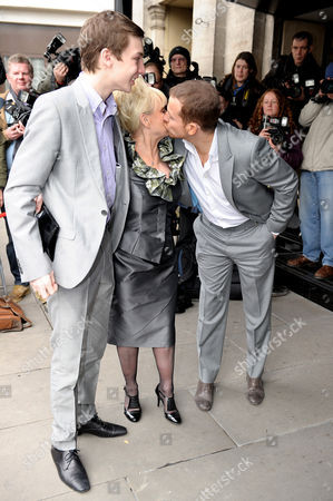 Charlie G. Hawkins,Barbara Windsor and Joe Swash