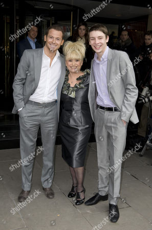 Barbara Windsor; Joe Swash and Charlie G. Hawkins,