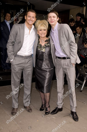 Joe Swash, Barbara Windsor and Charlie G. Hawkins