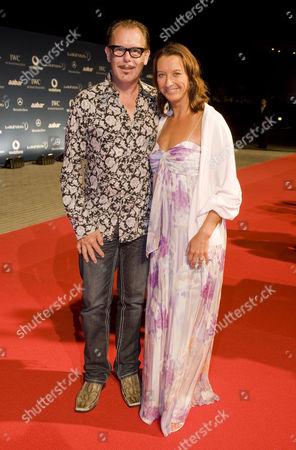Layne Beachley and husband Kirk Pengilly