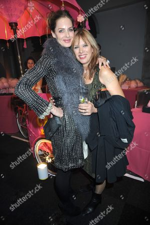Trinny Woodall with Annette Mason