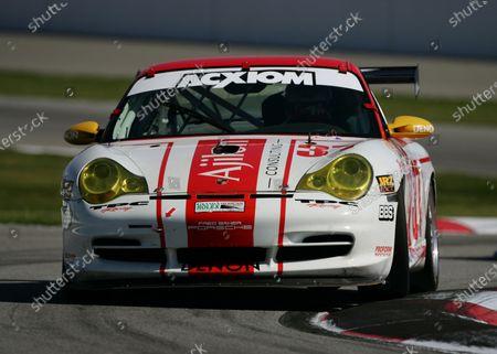 Editorial photo of Porsche, 2005 Grand Am, Fontana, California, Auto Club Speedway, United States of America - 01 Apr 2005