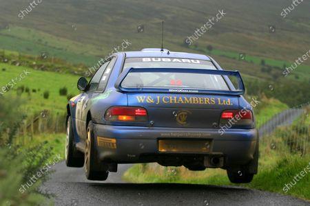Stock Photo of 2004 Pirelli British Rally Championship Ulster, 3-4 September 2004 Sean Devine and Brendan Connor World Copyright: Terry/Ebrey/LAT Photographic