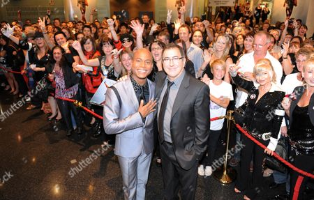 Stock Picture of Choreographer Travis Payne and Director Kenny Ortega