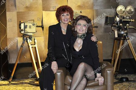 Sophia Loren and Maria Scicolone