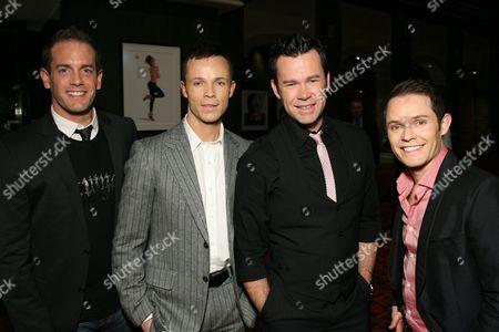 Toby Allen, Andrew Tierney, Phil Burton and Michael Tierney