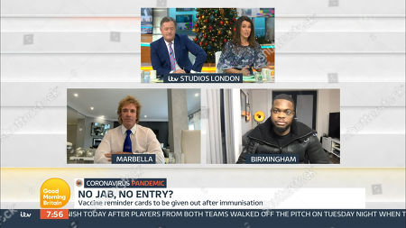 Editorial picture of 'Good Morning Britain' TV Show, London, UK - 09 Dec 2020