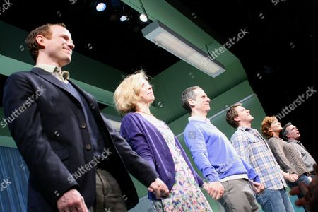 Stock Photo of Sean Dugan, Maddie Corman, Patrick Breen, Patrick Heusinger, Connie Ray, Cotter Smith