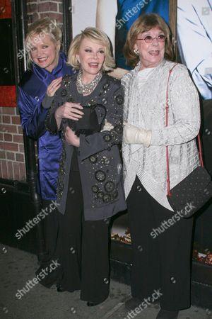 Christine Ebersole, Joan Rivers, Phyllis Newman