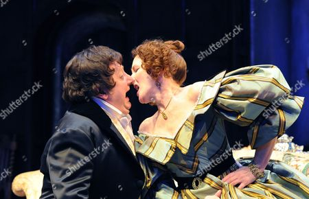 'London Assurance' - Simon Russell Beale (Sir Harcourt Courtly) and Fiona Shaw (Lady Gay Spanner)