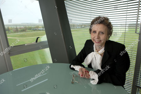 Editorial photo of Finnish Geneticist Professor Leena Palotie in Her Study at the Wellcome Trust Sanger Institute, Genome Campus, Hinxton, Cambridgeshire, Britain - 10 Nov 2009