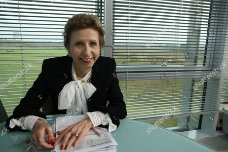 Editorial image of Finnish Geneticist Professor Leena Palotie in Her Study at the Wellcome Trust Sanger Institute, Genome Campus, Hinxton, Cambridgeshire, Britain - 10 Nov 2009