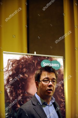 Editorial image of The Managing Director of Specsavers John Perkins in Helsinki, Finland - 11 Dec 2008