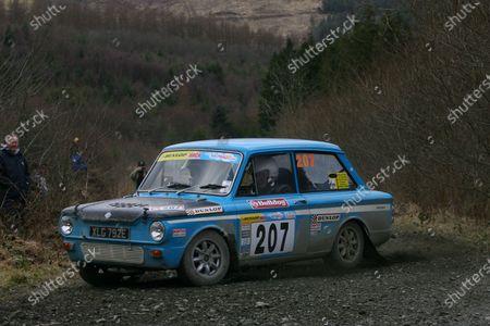 Stock Photo of Bulldog Rally, Wales 27th March 2010 Geoff Taylor - Imp Sport World copyright: Ebrey/LAT Photographic