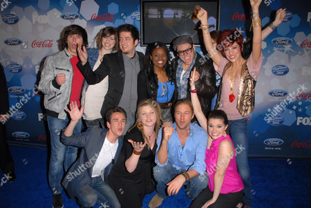 Editorial picture of American Idol Top 12 Party, Los Angeles, America - 11 Mar 2010