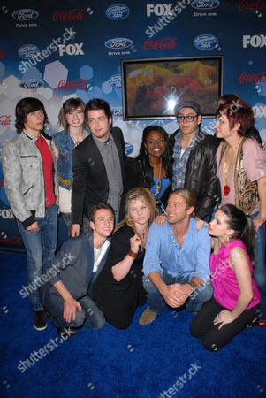 Tim Urban, Crystal Bowersox, Aaron Kelly, Michael Lynche, Paige Miles, Casey James, Katie Stevens, D