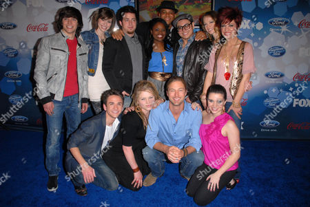 Editorial photo of American Idol Top 12 Party, Los Angeles, America - 11 Mar 2010