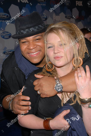 Crystal Bowersox and Michael Lynche