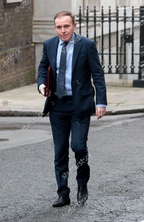 George Eustice. Political arrivals at Downing Street for todays Cabinet Meeting