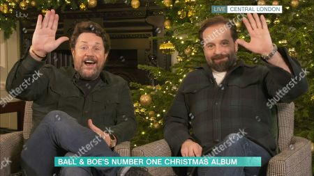 Stock Picture of Michael Ball and Alfie Boe