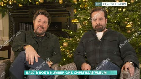 Stock Photo of Michael Ball and Alfie Boe