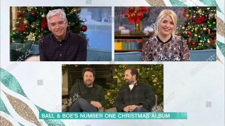 Phillip Schofield, Holly Willoughby, Michael Ball and Alfie Boe