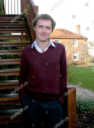 Editorial picture of William Fiennes promotes his new book 'The Music Room', Berkshire, Britain - 12 Mar 2010