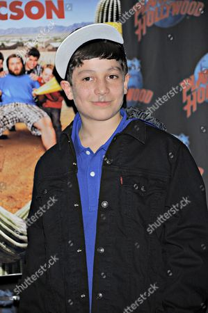Editorial image of Frank Dolce Promotes 'Sons of Tucson', Planet Hollywood, New York, America - 12 Mar 2010