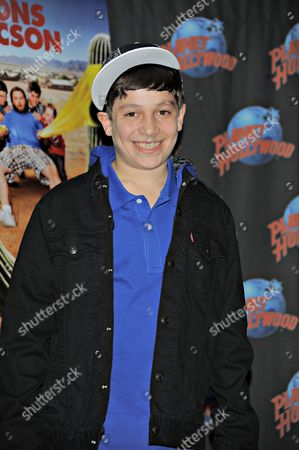 Editorial photo of Frank Dolce Promotes 'Sons of Tucson', Planet Hollywood, New York, America - 12 Mar 2010