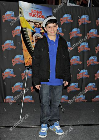 Editorial picture of Frank Dolce Promotes 'Sons of Tucson', Planet Hollywood, New York, America - 12 Mar 2010