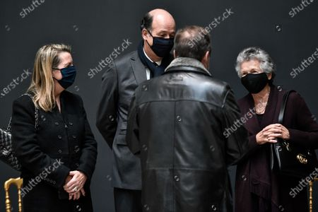 Editorial image of National day of mourning for Former French president Valery Giscard d'Estaing in Paris, France - 09 Dec 2020