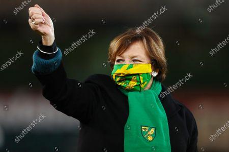 Joint majority shareholder of Norwich City, Delia Smith CBE - Norwich City v Nottingham Forest, Sky Bet Championship, Carrow Road, Norwich, UK - 9th December 2020