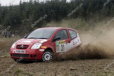 2007 British Rally Championship, Pirelli International Rally, Carlisle, Cumbria. 20th-21st April 2007. Jamie Hickman/Thomas Ward World Copyright: Ebrey/LAT photographic.