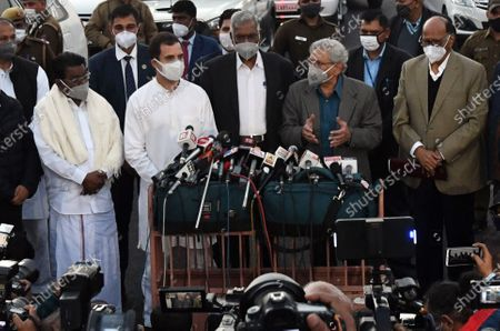 Editorial image of Opposition party leaders meet President over farm bills issue, in New Delhi, India - 09 Dec 2020