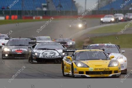 Silverstone, England. 30th April - 2nd May 2010. Marc Hennerici / Andreas Zuber, (Phoenix Racing / Carsport, Corvette Z06). Action.  World Copyright: Alastair Staley/LAT Photographic Ref: _O9T7726 jpg