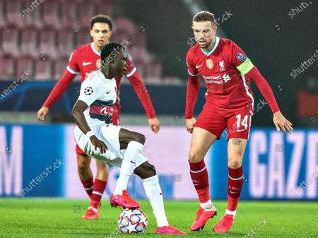 Editorial picture of FC Midtjylland vs Liverpool FC, Herning, Denmark - 09 Dec 2020