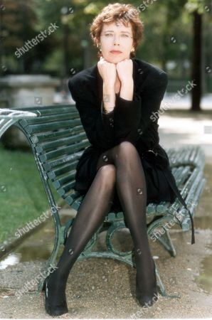 Actress Sylvia Kristel Former Star Of The 1970's Emmanuelle Films Pictured In Paris 1993