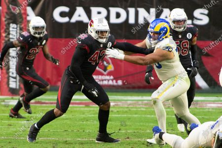 Editorial picture of Rams Cardinals Football, Glendale, United States - 06 Dec 2020