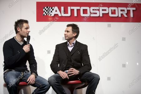 NEC, Birmingham.  15th January 2010. Andy Priaulx and Paul Radisich on stage. Portrait. World Copyright: Alastair Staley/LAT Photographic