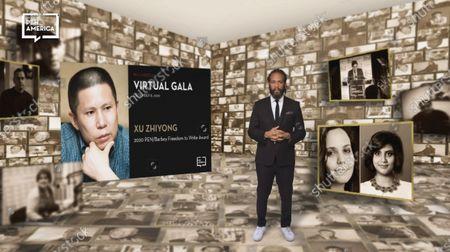 Editorial image of PEN America Virtual Gala, USA - 08 Dec 2020