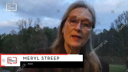Stock Picture of Meryl Streep expresses his gratitude for the courageous acts of Darnella Frazier.