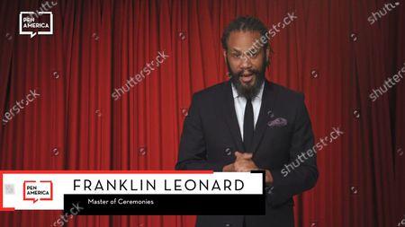Masters of Ceremonies Franklin Leonard for the PEN awards.